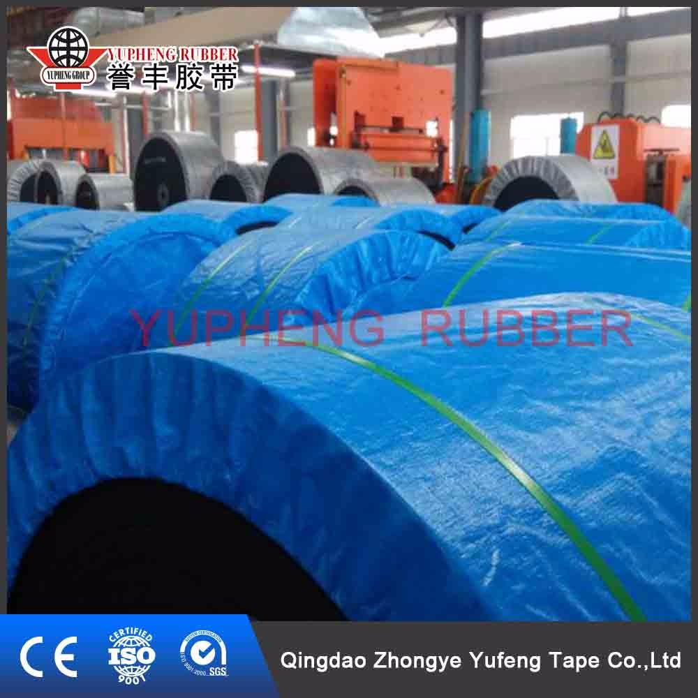 Vibrating Conveyor Endless Natural Rubber Inclined Belt Conveyor
