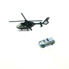 1:72 Alloy HELICOPTER COMBINATION Spinning Top Toy