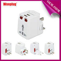 2014 new! High quality multi-nation travel adapter with usb charger