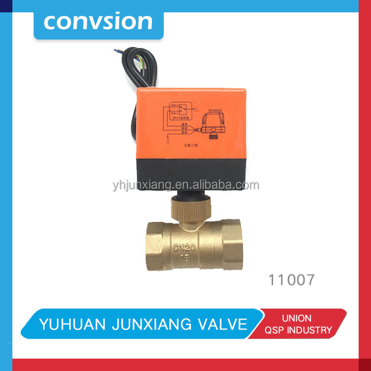 Junxiang Chilled Water/cooling Water Temperature Control Motorized wifi water valve