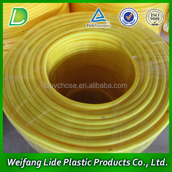 PVC coated polyester fabric hose