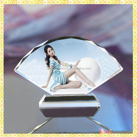 Personalized Printing Crystal Screen Wedding Picture Souvenirs For Bride Gifts