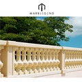 natural sandstone stone highway fence of column railing