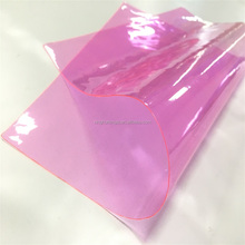 PVC Soft flexible Film In Rolls colorful PVC soft flexible film for Packaging bags xht-100