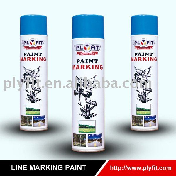 fluorescent colorful Line marking paint