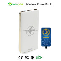 (A20) Slim And Lightweight Portable Mobile Travel Charger Power Bank For Tablets, Cell Phones And Smart Watch Wireless Charging