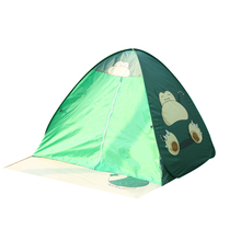 Pop Up Tent Bfull Automatic Portable Beach Tent with Curtain Sun Shelters Anti UV For Outdoor Garden Camping Fishing green