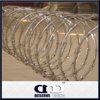 High Quality CBT 65 Concertina Razor Barbed Wire