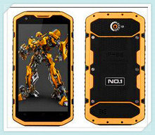 "Original 5.5"" No.1 X6800 MSM8916 Quad Core 1GB/8GB IP68 Waterproof/Shockproof/Scrachproof GPS Android 4.4 4G rugged Mobile Phone"