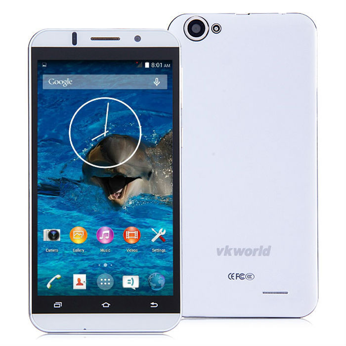 Cheapest vkworld VK700 5.5 inch MTK6582 Quad Core Camera Phone Front 5MP Back 13MP Android 4.4 3G Dual SIM Mobile Phone