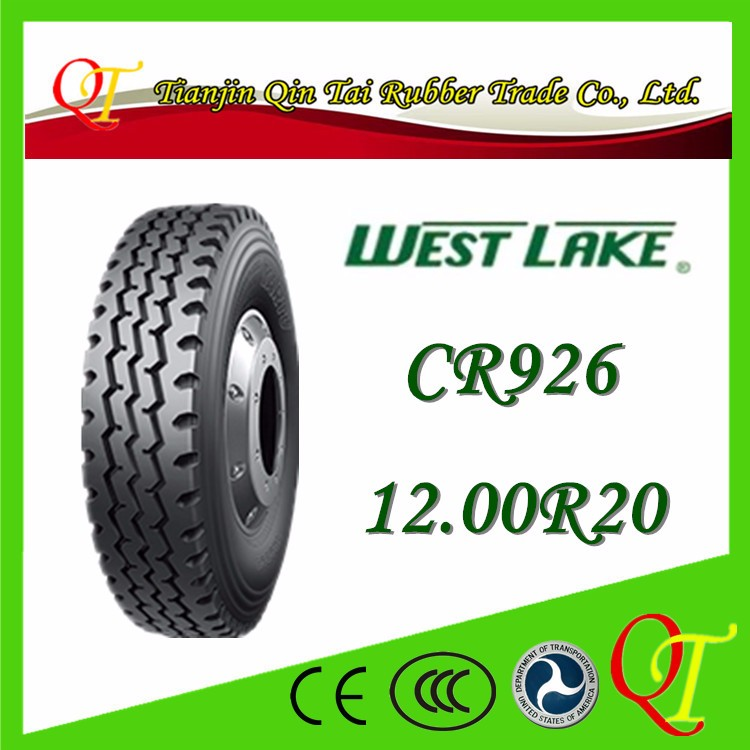China famous brand tire manufacturing high quality West Lake tire 12.00r20 atv tire