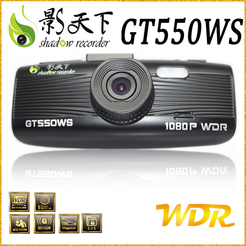 Motion detection 1080p full hd car black box with gps and g-sensor