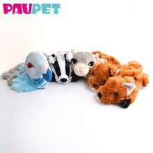 Cute stuffed with squeakers non-stuffed toy quality soft dog toys plush