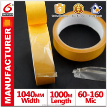Hot melt self adhesive double side tape of convenient