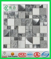 Best stone mosaic picture pattern Interior or exterior decoration