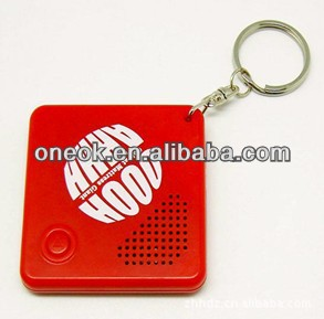 customized music key chain from China Manufacturer , oem music key chain