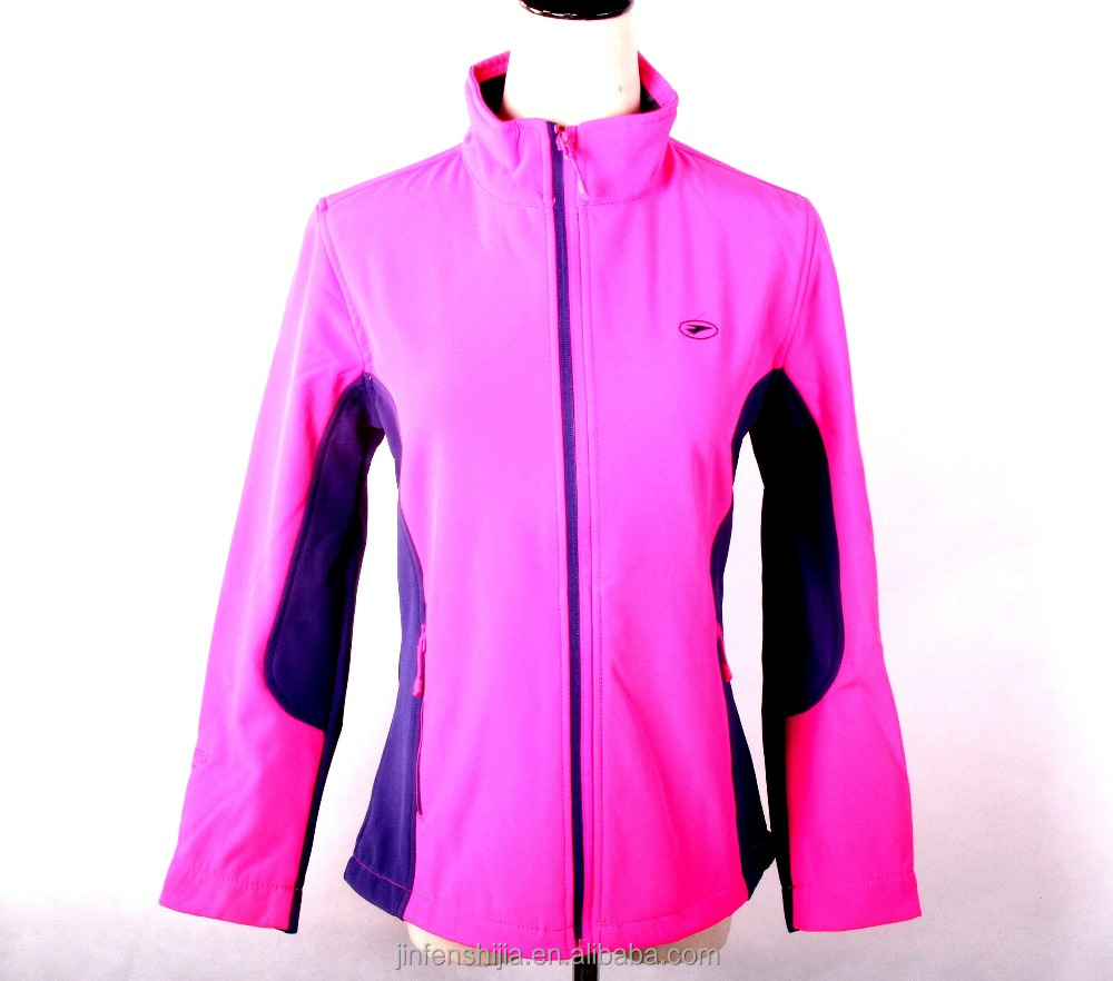 Wholesale cheap waterproof outdoor women softshell jacket