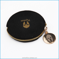 high quality sample available microfibre coin purse wallet and small jewelry bag