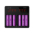 6 Pcs 18650 Battery Charger Efest LUC Blu6 Lcd / Oled Charger 6 Bay LUC V6, Blu6 App Bluetooth Charger with US/UK/EU/AU Plug