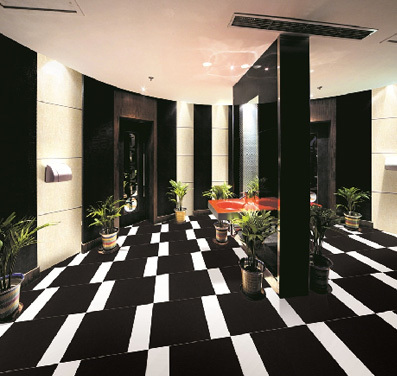 Best Quality Full Body Luxury Granite Black Sparkle Tile