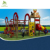 Used Children outdoor commercial playground equipment for sale