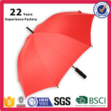 Cheap Custom Promotional Printing Walking Stick Straight Umbrellas with LOGO