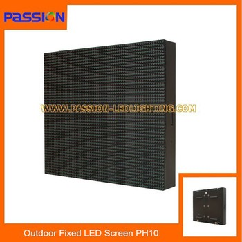 P10 Commercial Outdoor Led Display, P10 LED Display Board, P10 Led Display Panel