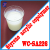 Styrene acrylic emulsion for multi-color paint WC - SA226