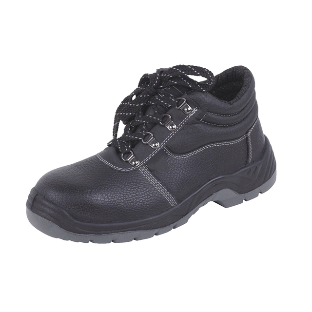 Cheap Lightweight Leathe Construction Industrial Safety Shoes