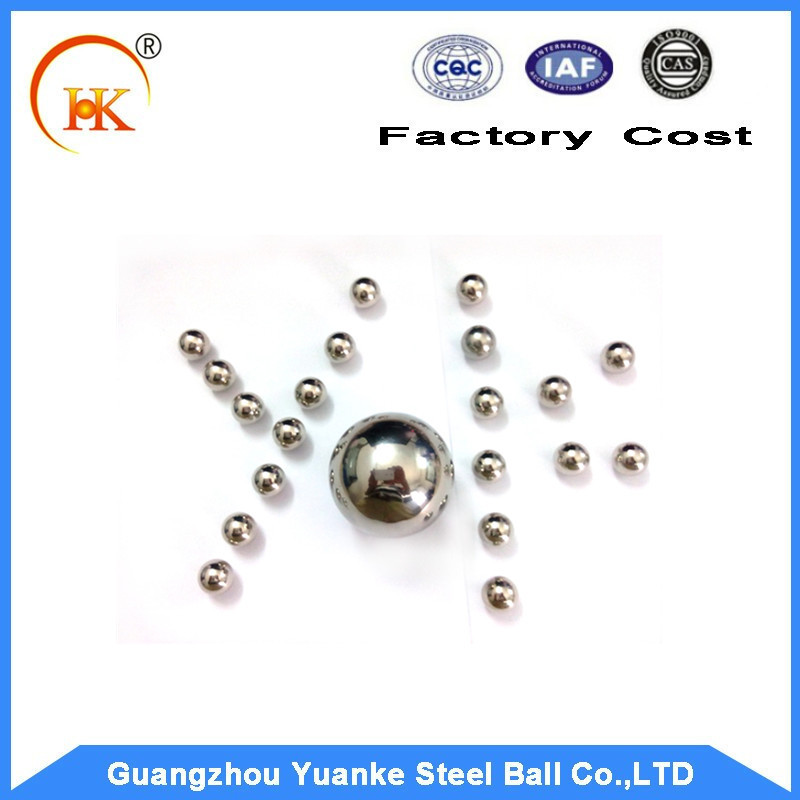 Yuanke Rich Stock 4.763mm Stainless Steel Beads