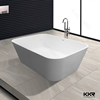 CE,SGS approved engineered stone portable bathtub for adults