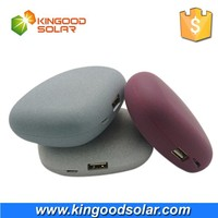 3000mah - 5200mah Optional Gift Stone Shape portable mobile power bank for cell phone and other USB devices