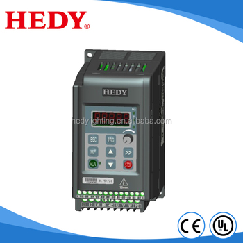 Mini size AC variable frequency drive 0.4kw 1.5kw power inverter