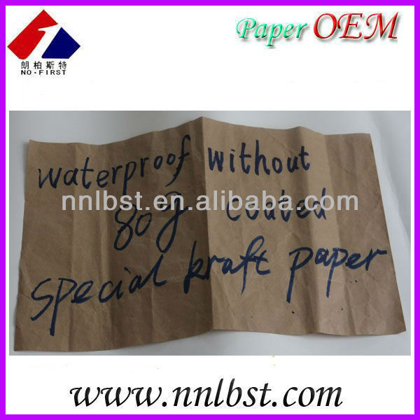 Special uncoated kraft paper, multiple use kraft paper