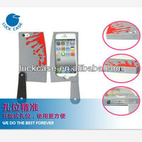 New knife shaped silicon case for iphone 5,manufacture mobile phone case