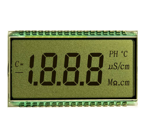 4 digit segment custom TN LCD display screen