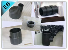 High pressure large diameter plastic abs pipe fitting, EB