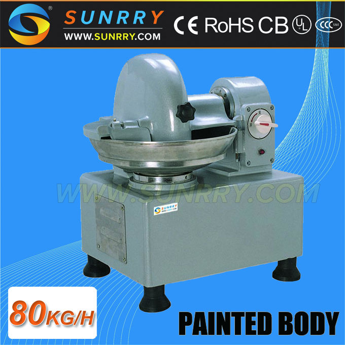 Factory price commercial meat food bowl chopper machine with high speed