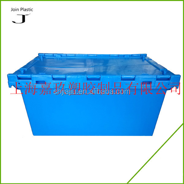Super Quality 85L Stackable Plastic Storage Tote Bin