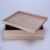 Raw Wood Jewelry Box Wooden gift storage Box With lid