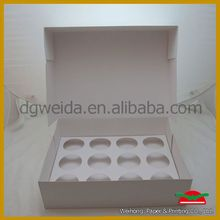 cheap promotion pvc windows cupcake boxes