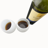 Machine made special fiber silicon wine glass for home table use
