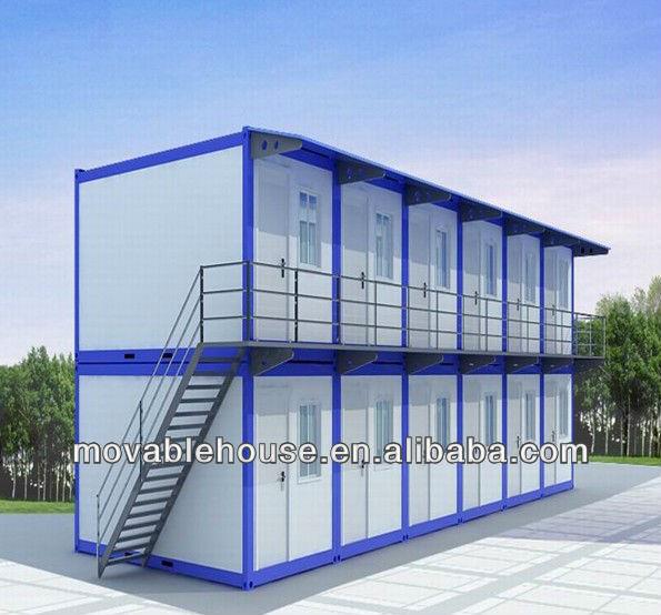 Iso falten beweglichen wohncontainer haus fertighaus for Wohncontainer fertighaus