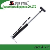 Mini Floor Bike Pump With Gauge Hand Air Pump Tire Ball Inflatable