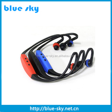 Shenzhen factory hot sale sport earphone indian song mp3 with good price