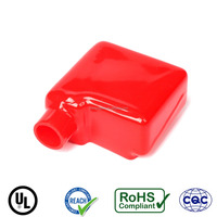 Manufacturers soft PVC auto battery terminal square cap