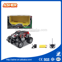 High quality children toys 1:14 electric plastic rc military trucks