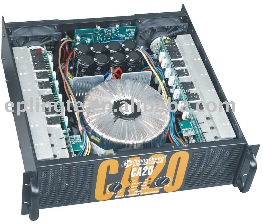 Professional Power Amplifier CA20