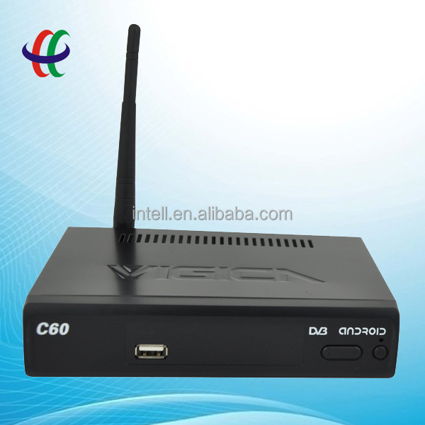 best android DVBS2 tv box,OTT,android and satellite TV box