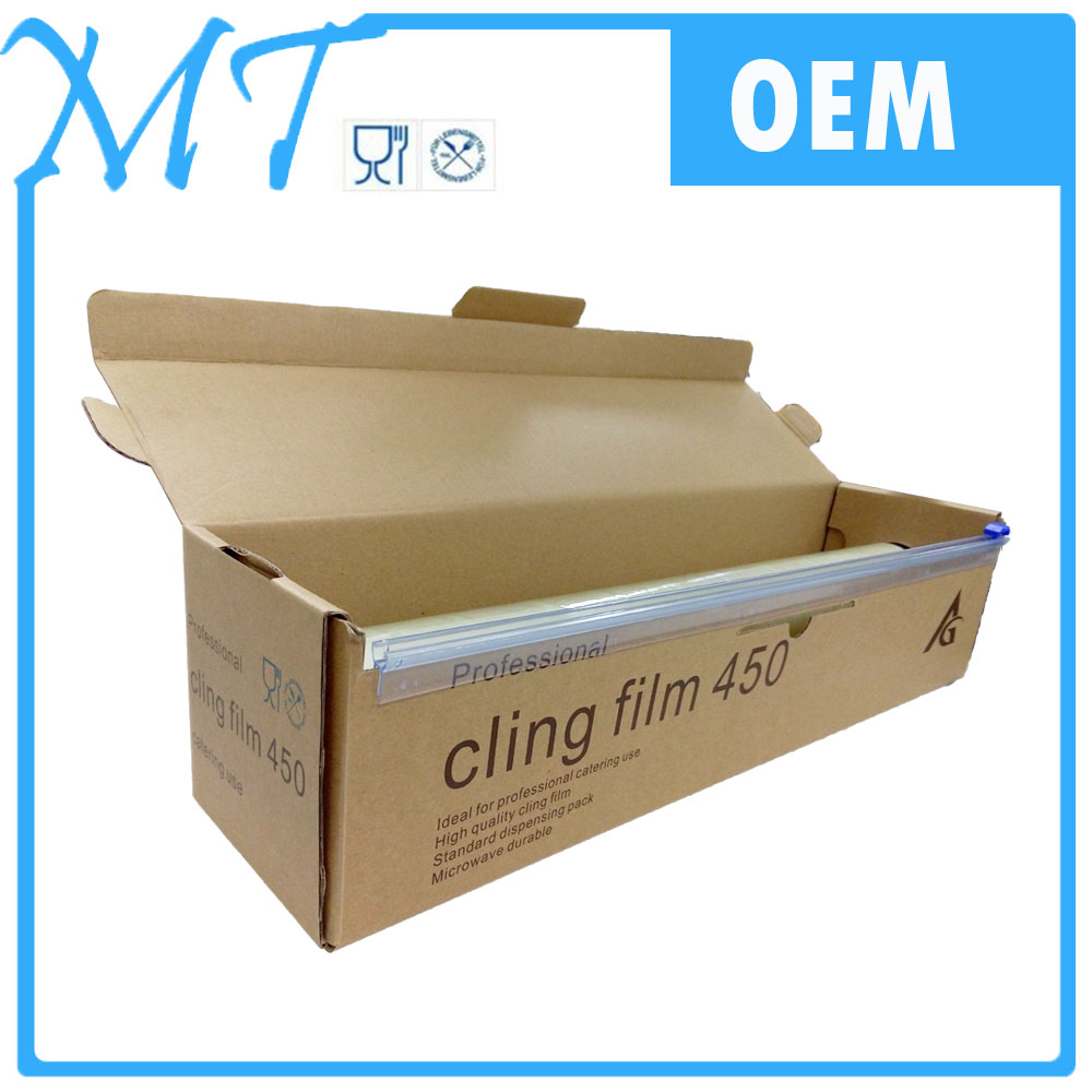 2016 high quality hot sale Dongguan pvc food packaging cling stretch film